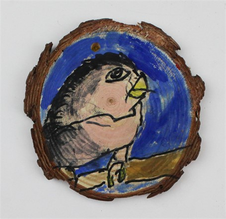 Tree/Bird (ornament)