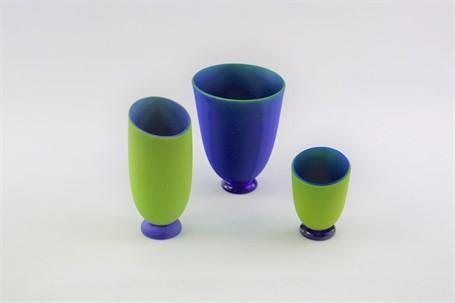 Vase Set- Parrot (3 Pieces)