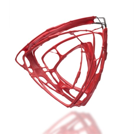 Bracelet: One of a Kind Triangle in Red