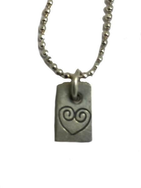 Necklace - Single Charm Love Symbol