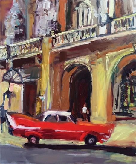 La Vida Cuba: Red Car 2