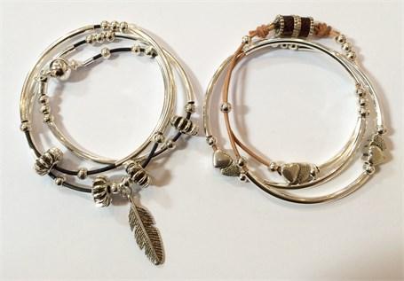 Necklace - Bracelet Wrap - Assorted Magnetic Clasp