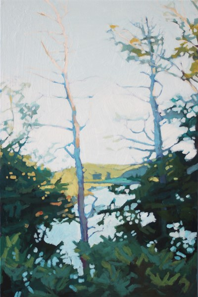 "Liz Hoag | The Only View | Acrylic | 36"" X 24"" 