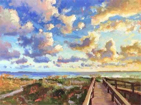 Coastal Skies