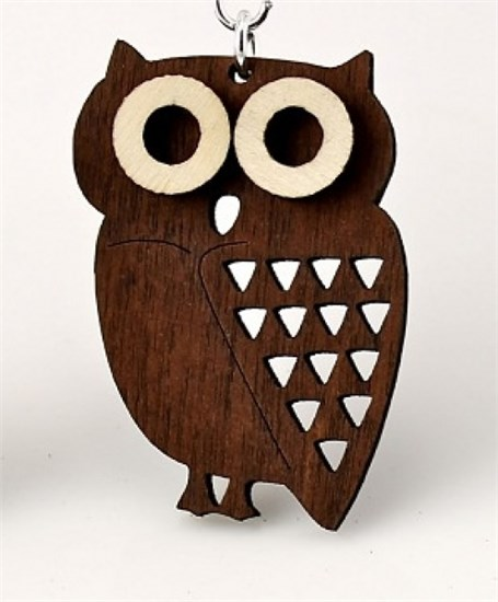 Pendant - Little Hoot Owl  1363
