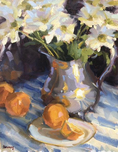 Daisies and Oranges