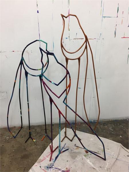Standing Sculptures