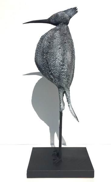 "James Rivington Pyne | Night Heron | Composite/Mixed Media | 32"" X 12.62"" 