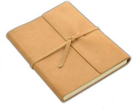 Leather Writer's Log - Buckskin   RU10