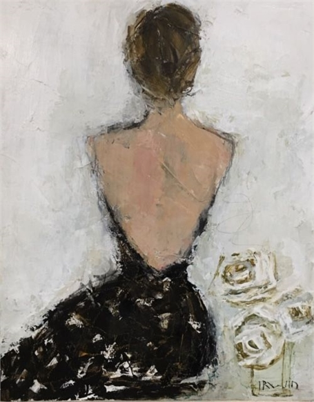 Backless in Dior 1954
