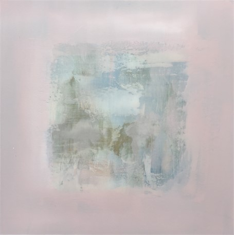 "Charles Bluett | Calm Series I | Acrylic on Canvas | 30"" X 30"" 