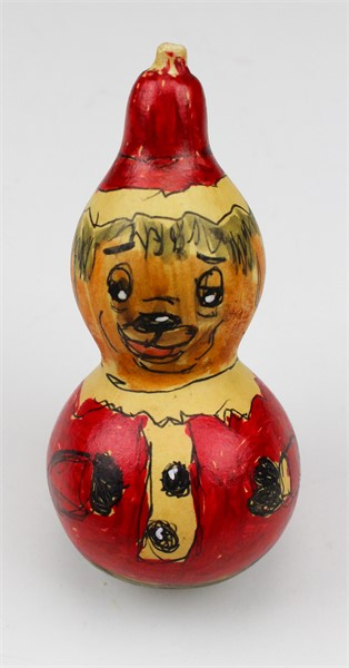 Santa Claus Dog Gourd (ornament)