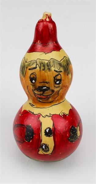 Santa Claus Dog Gourd (ornament)