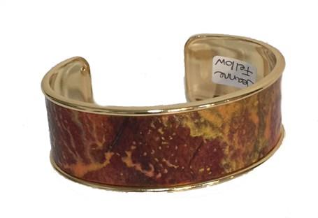 Bracelet -  Gold Cuff