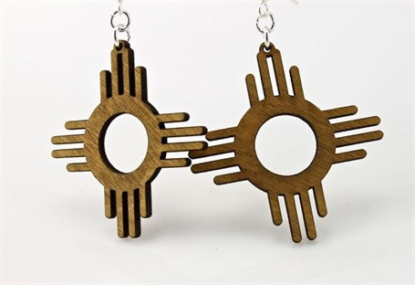 Earrings - The Zia (Sun)  1393