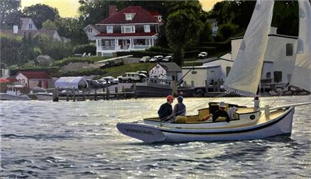 "William B. Hoyt | Winsome | Oil | 14"" X 24"" | $3,500.00"
