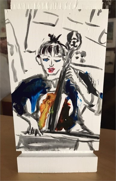 Cellist Series- Nancy I