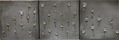 #253 Three Piece Marathon Silver
