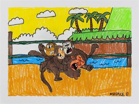 Monkey Fights