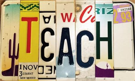 Lost License Plate - Teach
