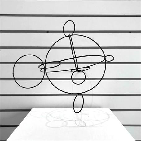 Large Circles Sculpture