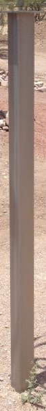 Stainless Steel Pedestal - 6' - 72