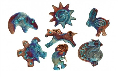 Raku - Assorted Design Magnet