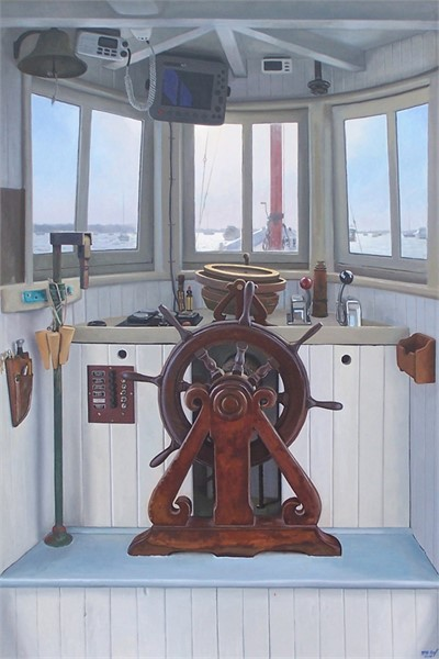 Peggy's Wheelhouse 36 x 24