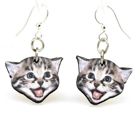 Earrings - Playful Kitten 1527