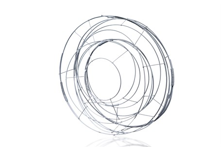 Sculpture: Circle in White