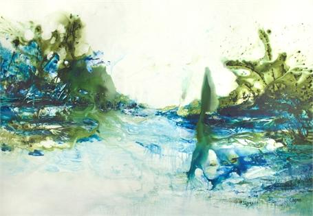 Sapphire & Green Sensations
