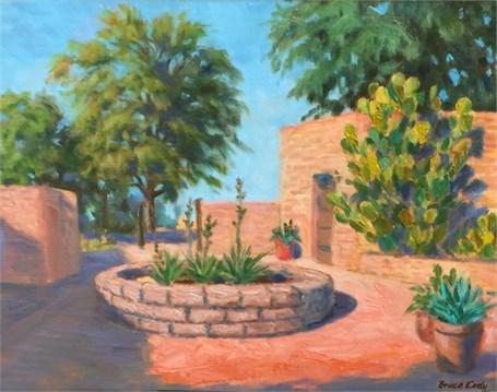Courtyard Cactus Patterns