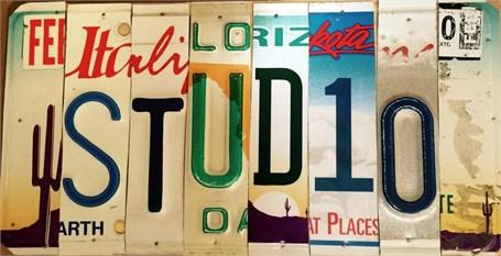 Lost License Plate - Studio
