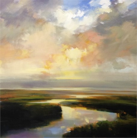 "Craig Mooney | Marsh Light | Oil | 36"" X 36"" 