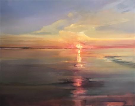 "Holly Ready | Morning Stillness | Oil on Canvas | 24"" X 30"" | Sold"