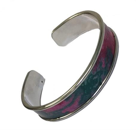 Bracelet - Handpainted Paper Cuff