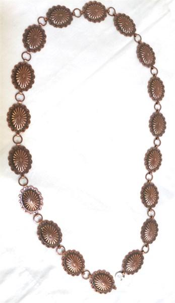 Concho Belt - Copper 2.5