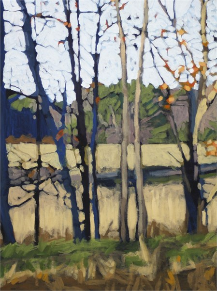 "Liz Hoag | Open Field | Acrylic | 24"" X 18"" 