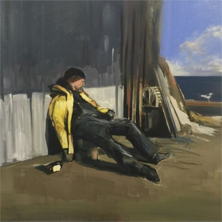 "Craig Mooney | Drunken Sailor | Oil | 36"" X 36"" 