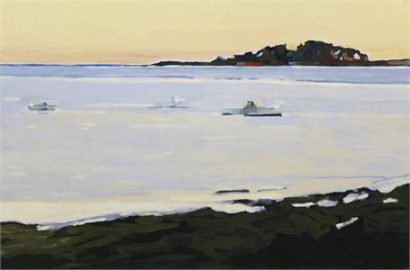 "Liz Hoag | Kettle Cove | Acrylic | 24"" X 36"" 