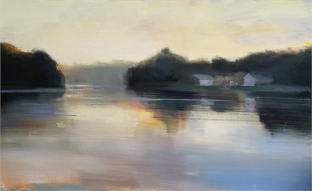 "Craig Mooney | Sunset Cove | Oil | 30"" X 50"" 