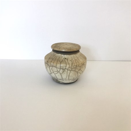 "Richard Winslow | Small Pot With Lid | Ceramic | 5"" X 6"" 