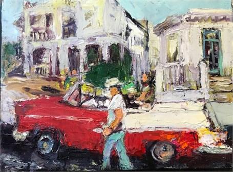 La Vida Cuba- Red Convertible
