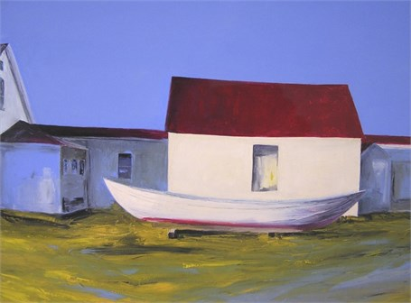 "Janis H. Sanders | Evening Light | Oil on Canvas | 30"" X 40"" 