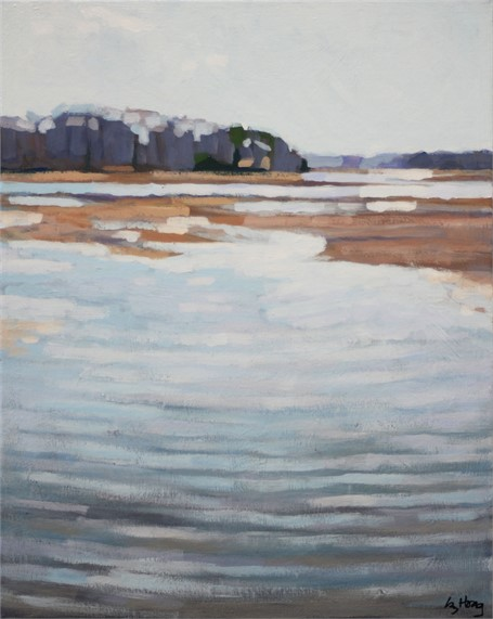 "Liz Hoag | Low Tide | Acrylic | 20"" X 16"" 