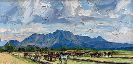San Cayetano View - Horse Pasture