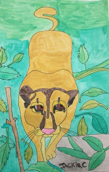 Pensive Panther