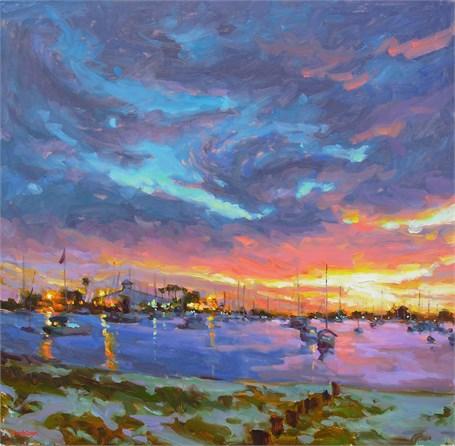 Yacht Club Sundown