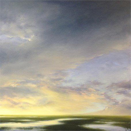 "Margaret Gerding | Faith | Oil on Panel | 36"" X 36"" 