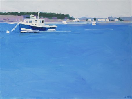 "Liz Hoag | Off Ferry Beach | Acrylic | 18"" X 24"" 